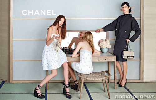 Рекламная кампания Chanel. Весна 2013