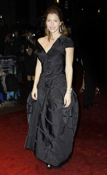 Джессика Бил на London Film Festival