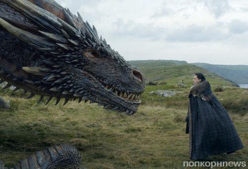 Видео: как снимали встречу Джона Сноу с драконом в «Игре престолов»