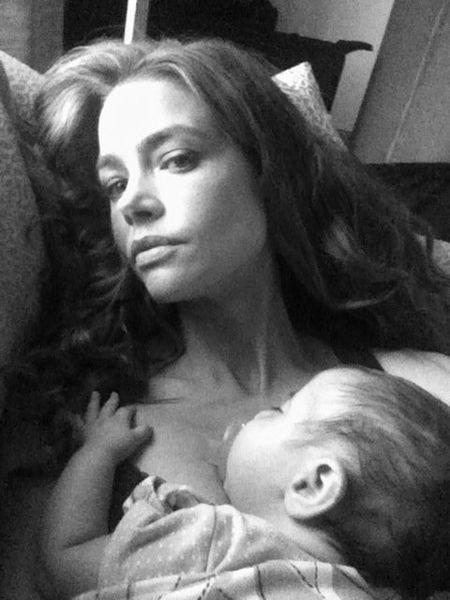 Дениз Ричардс и ее малышка Элоиз