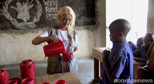 Видео: Кристина Агилера призывает покончить с голодом