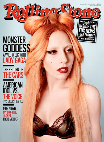 Lady Gaga в журнале Rolling Stone