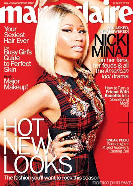 Ники Минаж в журнале Marie Claire. Август 2013