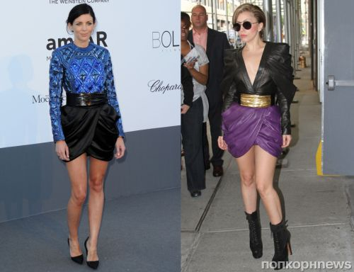 Fashion battle: Либерти Росс и Lady GaGa