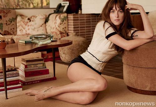 Дакота Джонсон в журнале Vogue. Февраль 2015
