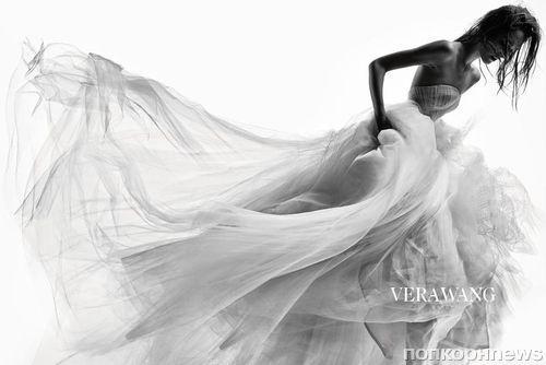 Рекламная кампания свадебных нарядов Vera Wang Осень 2014
