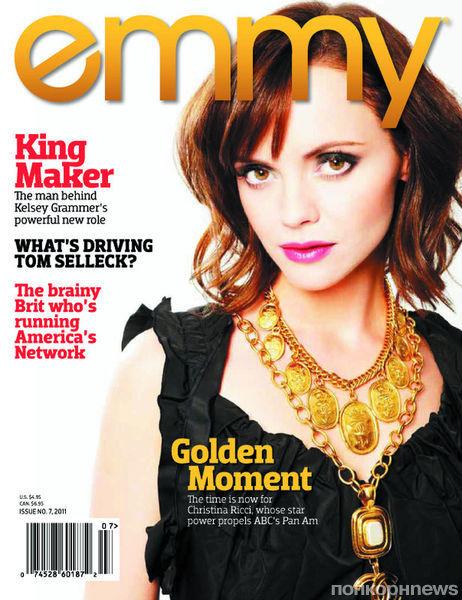 Кристина Риччи в журнале Emmy. Декабрь 2011