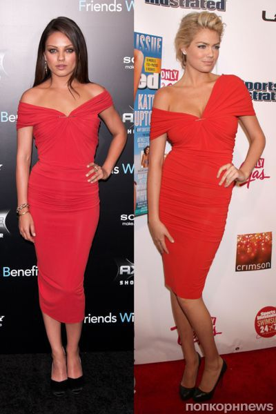 Fashion battle: Мила Кунис и Кейт Аптон