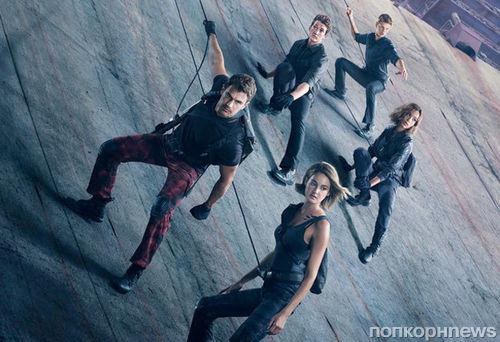 Тео Джеймс и Шейлин Вудли на новых постерах «Дивергент, глава 3: За стеной»