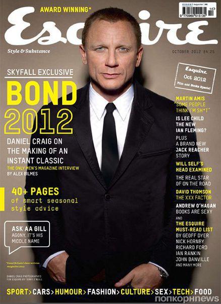 Дэниел Крэйг в журнале Esquire Великобритания. Октябрь 2012