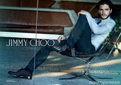"Звезда сериала ""Игра престолов"" в рекламной кампании  Jimmy Choo.Осень / Зима 2015"