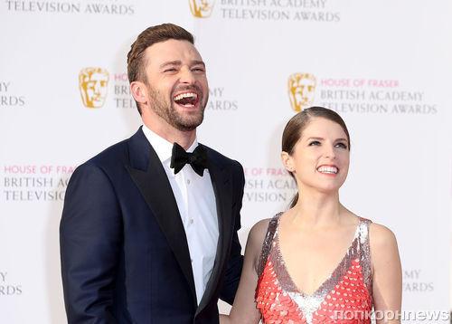 Джастин Тимберлейк, Анна Кендрик и другие звезды на красной дорожке BAFTA TV 2016