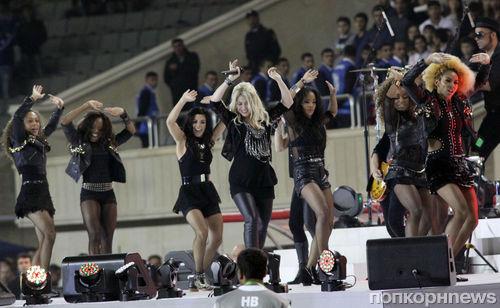 Шакира выступила в Баку