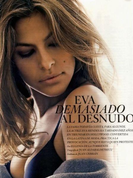 Ева Мендес в испанском журнале El Pais Semanal