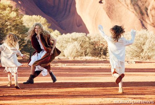 Николь Кидман в новой фотосессии для Vogue Австралия