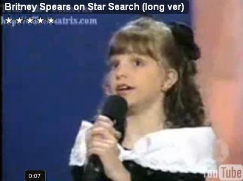 Юная Бритни Спирс на шоу Star Search