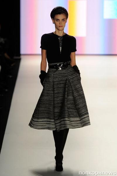 Модный показ Carolina Herrera. Осень / зима 2012-2013