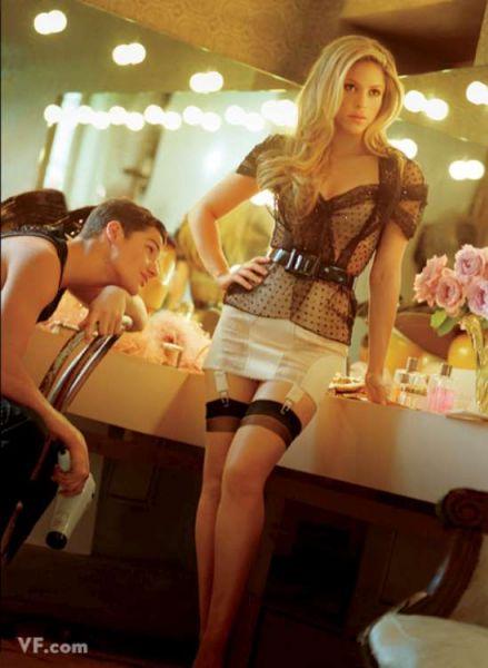 Шакира в журнале Vanity Fair. Октябрь 2009