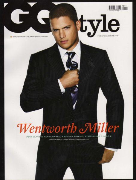 Вентвор Миллер в журнале GQ Style. Италия. Весна / Лето 2009
