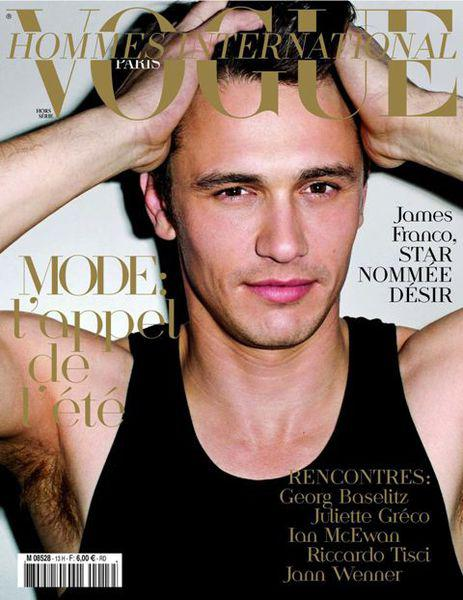 Джеймс Франко в журнале Vogue Hommes International Париж. Апрель 2011
