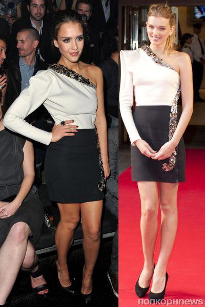 Fashion battle: Джессика Альба и Лили Дональдсон
