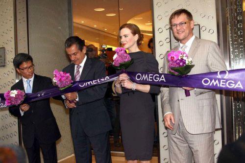 Николь Кидман представила OMEGA в Гонконге