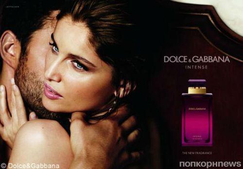 Рекламная кампания нового аромата Dolce & Gabbana  Pour Femme Intense