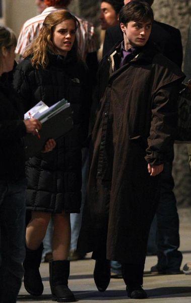 "Фото со съемочной площадки ""Гарри Поттер и Дары Смерти"""