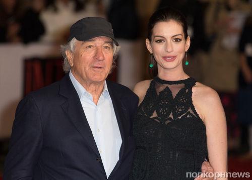 Энн Хэтэуэй и Роберт Де Ниро представили фильм «Стажер» в Лондоне