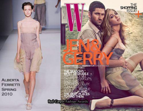 Во что одета Дженнифер Энистон в журнале W?