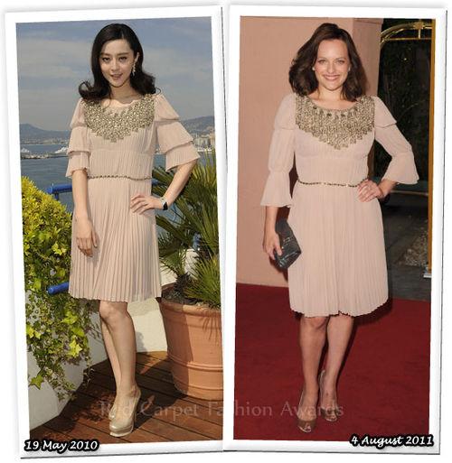 Fashion Battle: Фан Бинг Бинг и Элизабет Мосс