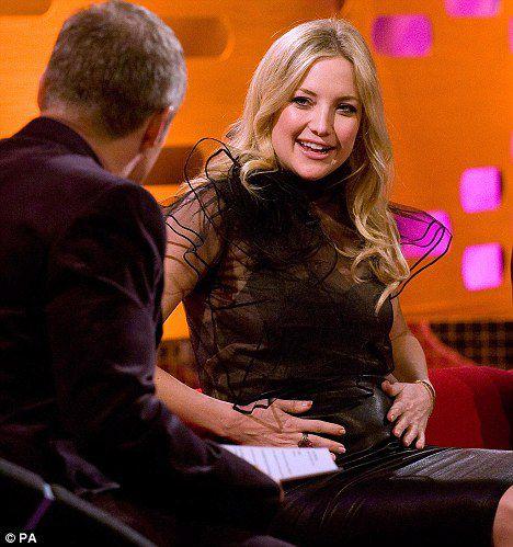 Кейт Хадсон рассказала о беременности на шоу Грэма Нортона