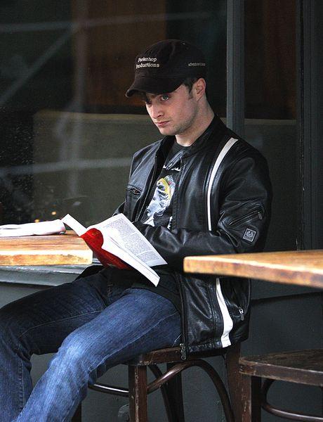 Дэниел Рэдклифф: чтение улучшает пищеварение