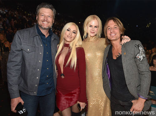 Фото: Эштон Катчер, Николь Кидман, Гвен Стефани и другие звезды на красной дорожке Country Music Awards 2018