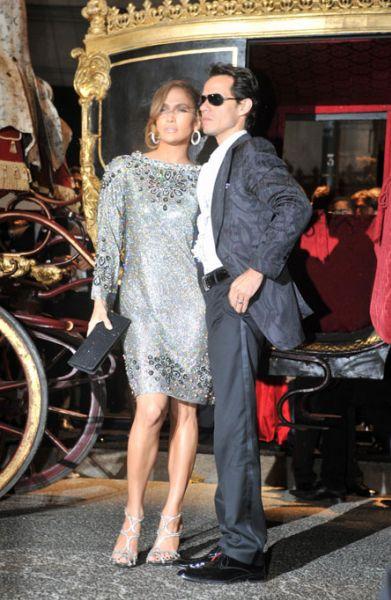 Дженнифер Лопес на вечеринке Dolce & Gabbana