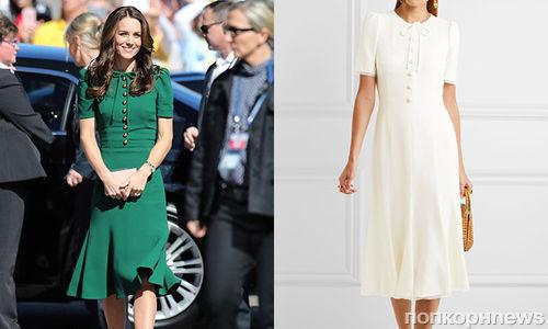 Dolce & Gabbana выпустили платье в честь Кейт Миддлтон