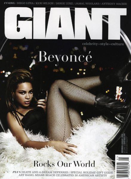 Бейонсе Ноулз в журнале Giant. Январь 2009