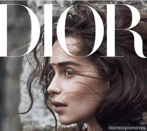 Звезда «Игры престолов» Эмилия Кларк в фотосессии для Dior