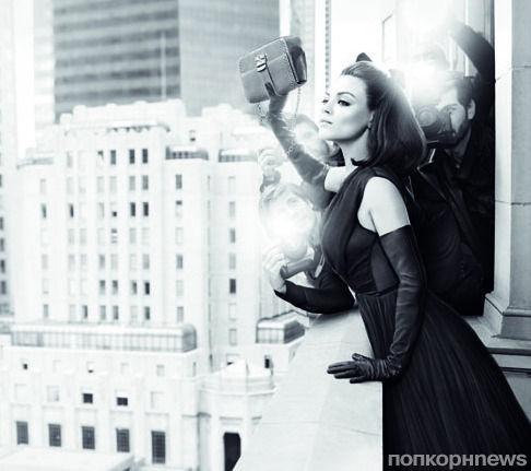 Мила Кунис в рекламной кампании сумок Miss Dior. Осень / зима 2012-2013