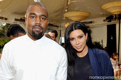 Ким Кардашьян пожаловалась, что выходки Канье Уэста добавили ей седины
