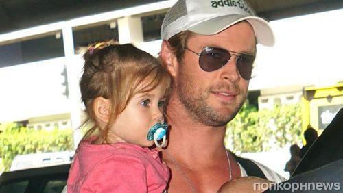 Крис Хемсворт об отцовстве: «Теперь я знаю, что такое любовь»