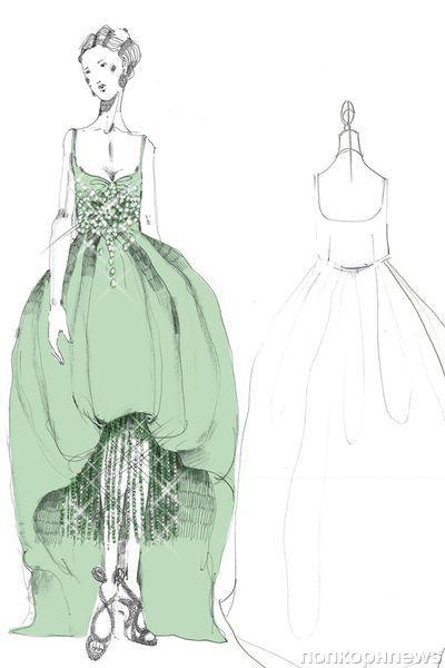 Эскизы костюмов для фильма «Великий Гэтсби» от Prada