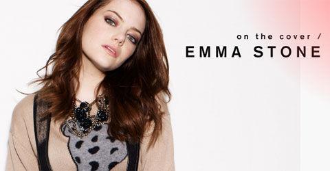 Эмма Стоун на обложке журнала Nylon