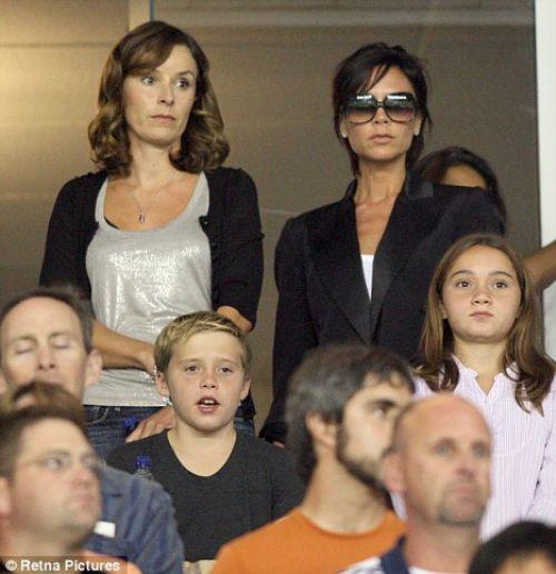 Виктория Бэкхем злится на фанатов LA Galaxy