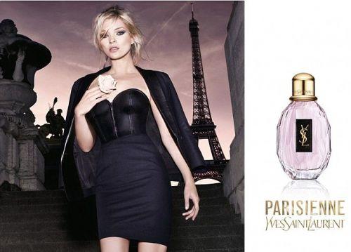 Кейт Мосс в рекламе духов Yves Saint Laurent
