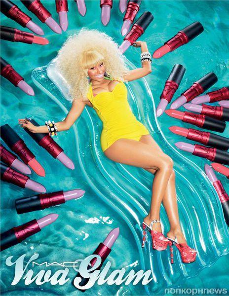 Первый взгляд на Ники Минаж в рекламе Viva Glam