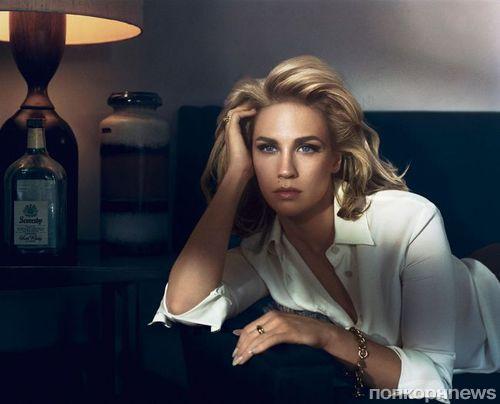 Дженьюари Джонс в журнале Vogue. Италия. Августа 2014