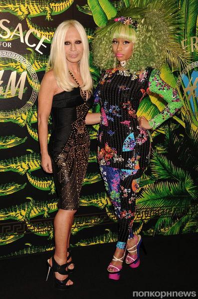 Модный показ Versace for H&M