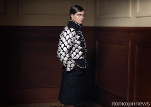 Кара Делевинь, Саша Лусс и другие в рекламном ролике Chanel. Осень / зима 2015-2016