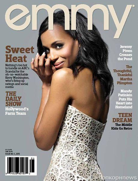 Керри Вашингтон в журнале  Emmy. Июнь 2013